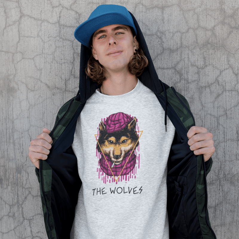 Sweat THE WOLVES <br> ADULTE