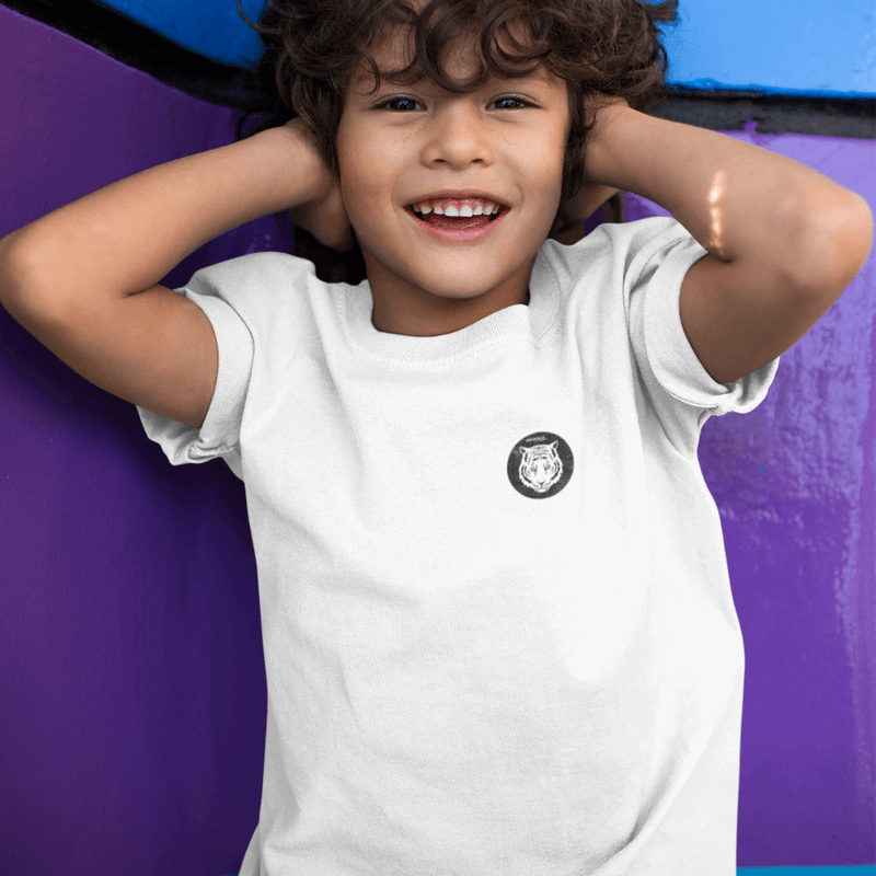 T-Shirt ANIMALS CLOTHING - BLANC <br> ENFANT