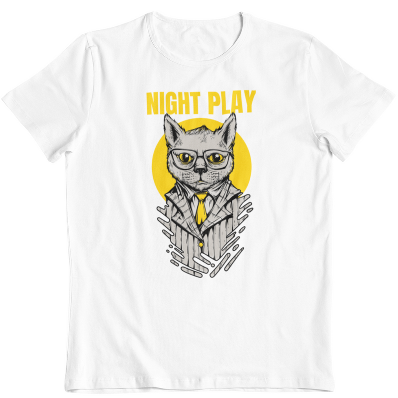 T-Shirt NIGHT PLAY <br> ADULTE