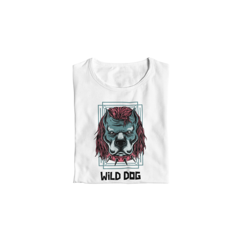 T-Shirt WILD DOG <br> ADULTE