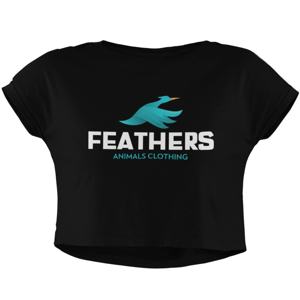 Crop Top FEATHERS