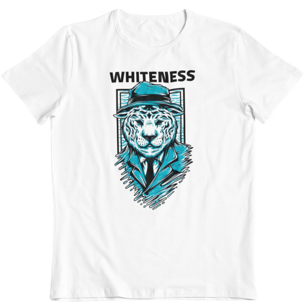 T-Shirt WHITENESS <br> ADULTE