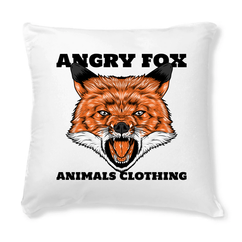Coussin + Housse ANGRY FOX
