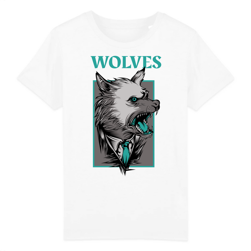 T-Shirt WOLVES <br> ENFANT