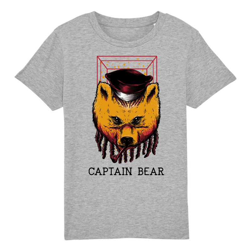 T-Shirt CAPTAIN BEAR <br> ENFANT