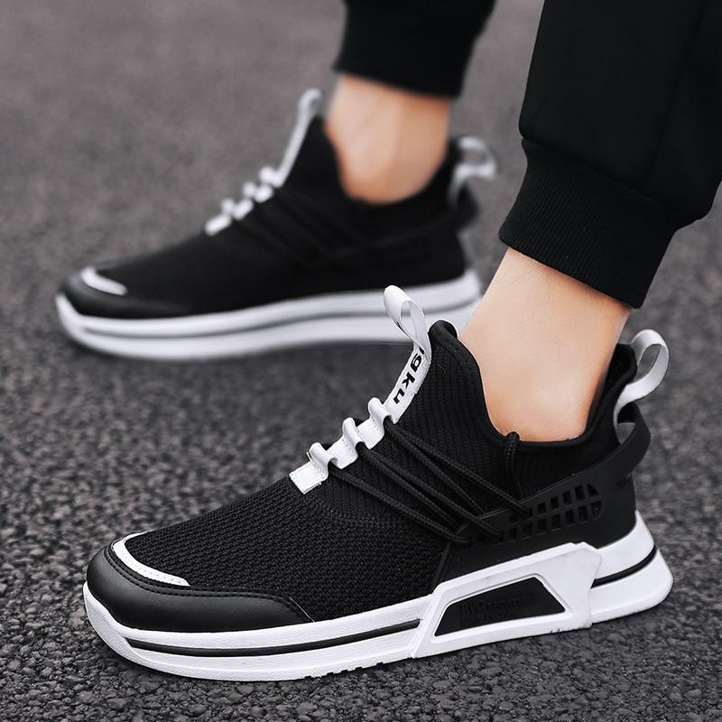 Brand Men Casual Shoes Lightweight Breathable Flats Men Shoes Footwear Loafers Casual Shoes Sneakers Chaussure Off White Shoes