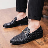 Rommedal men comfortable loafers point toe men formal shoes leather wedding party driving shoes slip on male footwear drop ship
