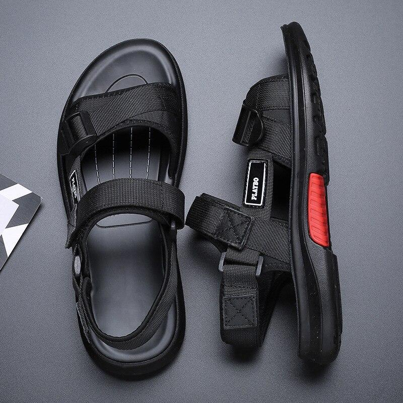 Men's Sandals Summer Recreational Air-permeable Sandals Men's Fashion Outdoor Sports Beach Shoes Men