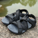 YRRFUOT Free shipping Men's Summer Sandals Fashion Outdoor Casual Shoes Comfortable Adult Open-toe Beach Shoes High Quality Man Fishing Shoes
