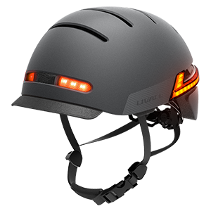 Casco da bicicletta Intelligente
