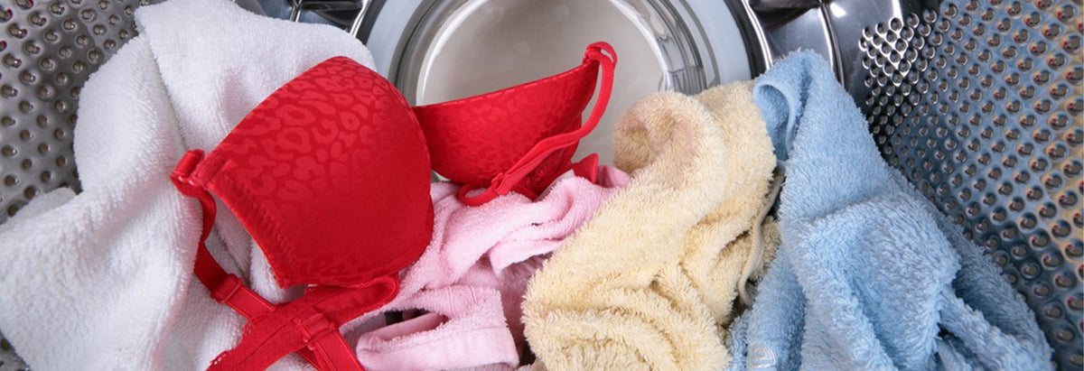 Hand Washing vs. Machine Washing Bras