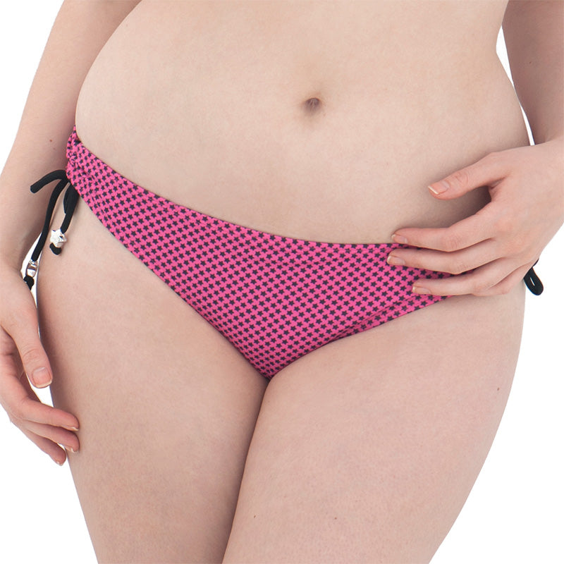 Curvy Kate Starry Eyed Mini Brief Flamingo