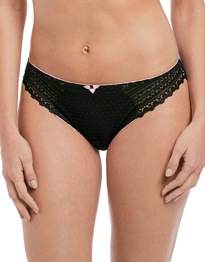 Freya Daisy Lace Brief Noir Black
