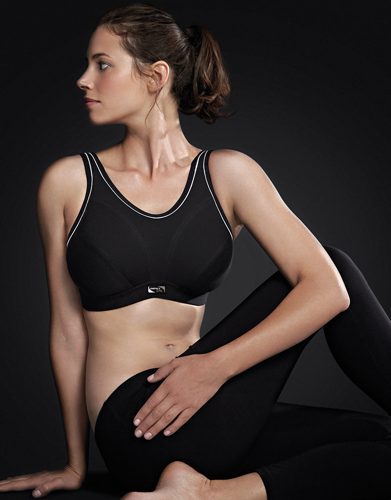 Royce Impact Free Sports bra Black D - FF cups