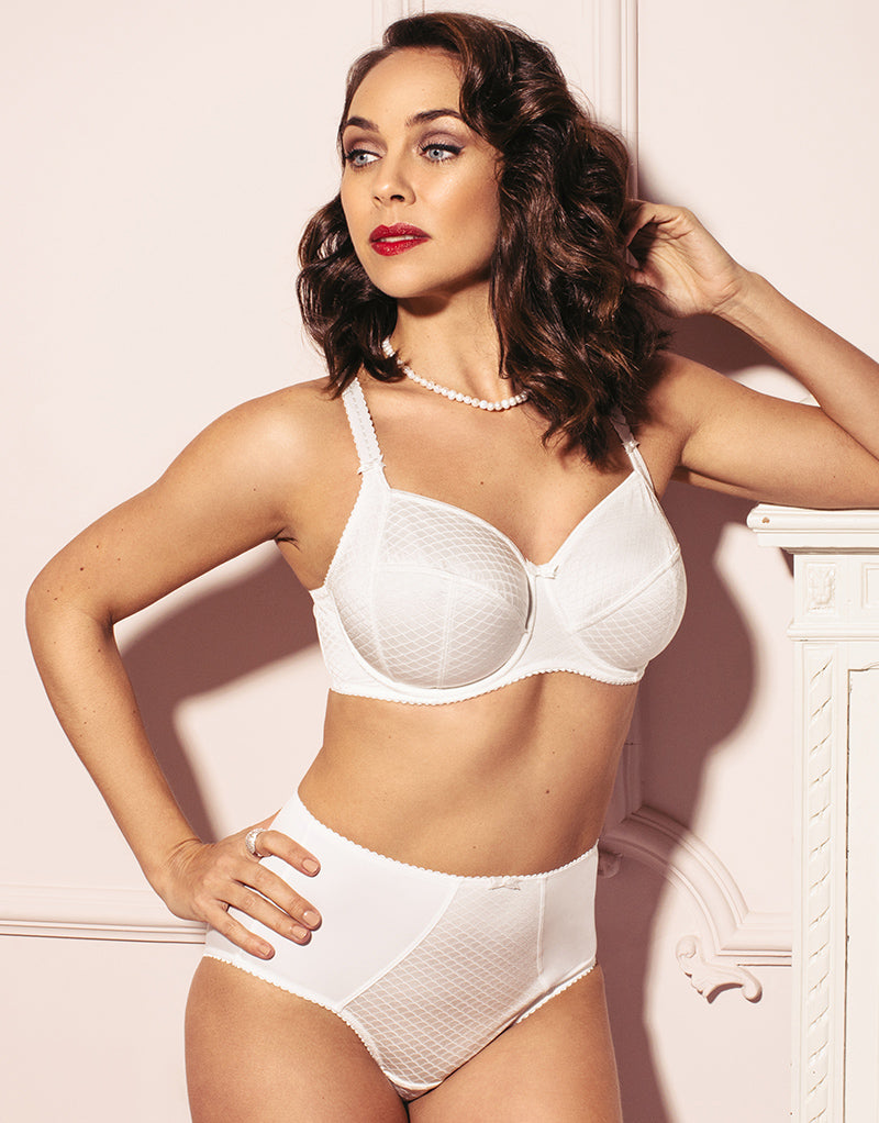 Sirens By Pour Moi Hepburn Smooth Side Support Bra Ivory