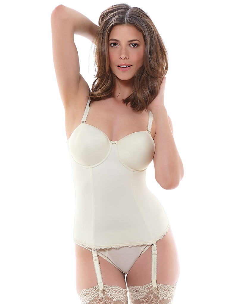 Fantasie Ella Moulded Longline Basque Ivory