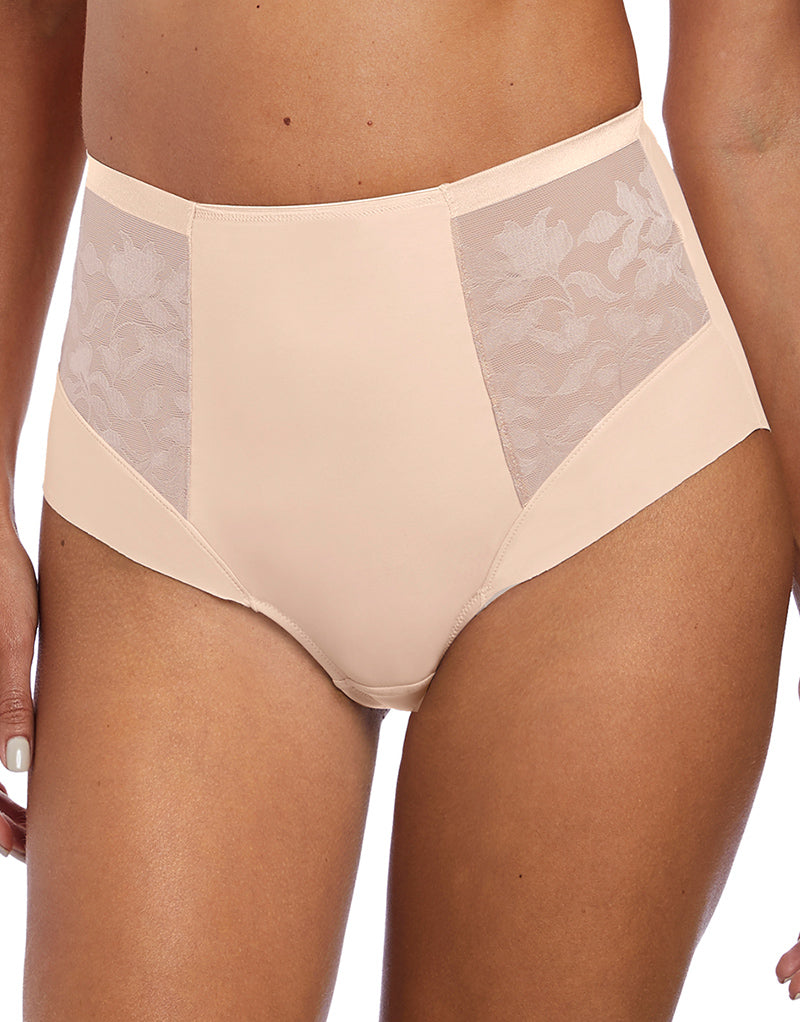 Fantasie Illusion High Waist Brief Natural Beige