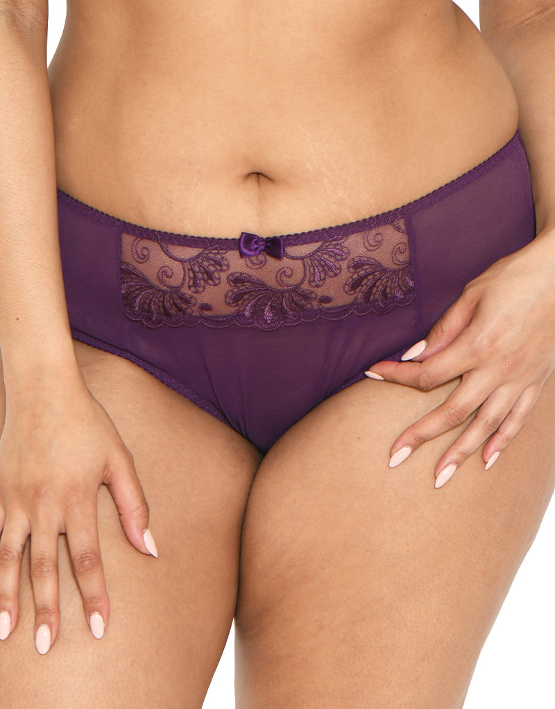 Flirtelle Orla Brief Blackberry
