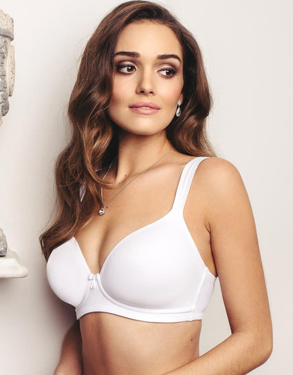 Sirens by Pour Moi Non-Wired T-Shirt Bra White