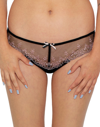 Adore Heather Brief Pink Heather/Black