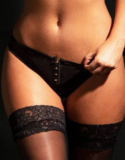 Contradiction by Pour Moi Hook Up Brief Black