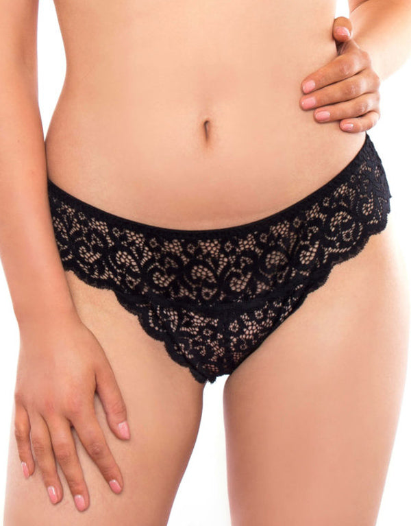 Rougette By Tutti Rouge Sarah Brief Black