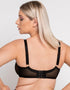 Scantilly Unzipped Plunge Bra Black