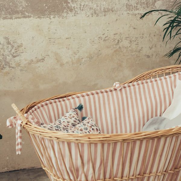 Suuky Stripe Bumper for Iconic Crib