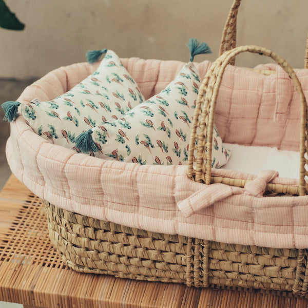 Moses Basket Set Padded Fold