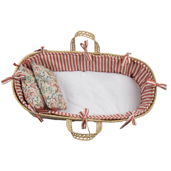 Moses Basket Set Suuky Stripe
