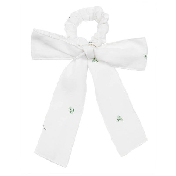 Botanical Flower Print | Scrunchie