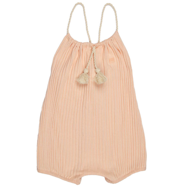 Ribbed | Baby Girl Romper