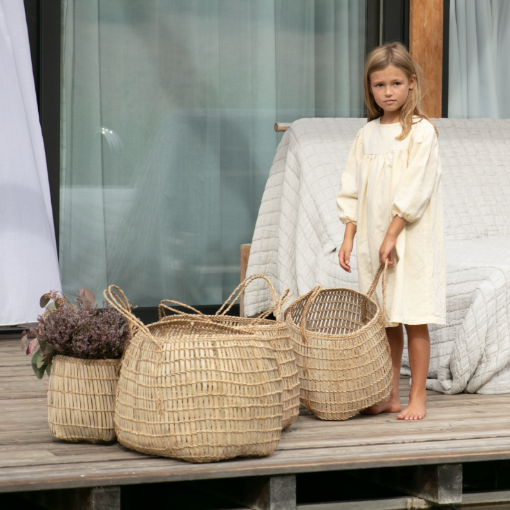 Basic Linen | Girl's Dress