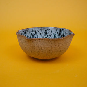 Speckled Zebra Bowl