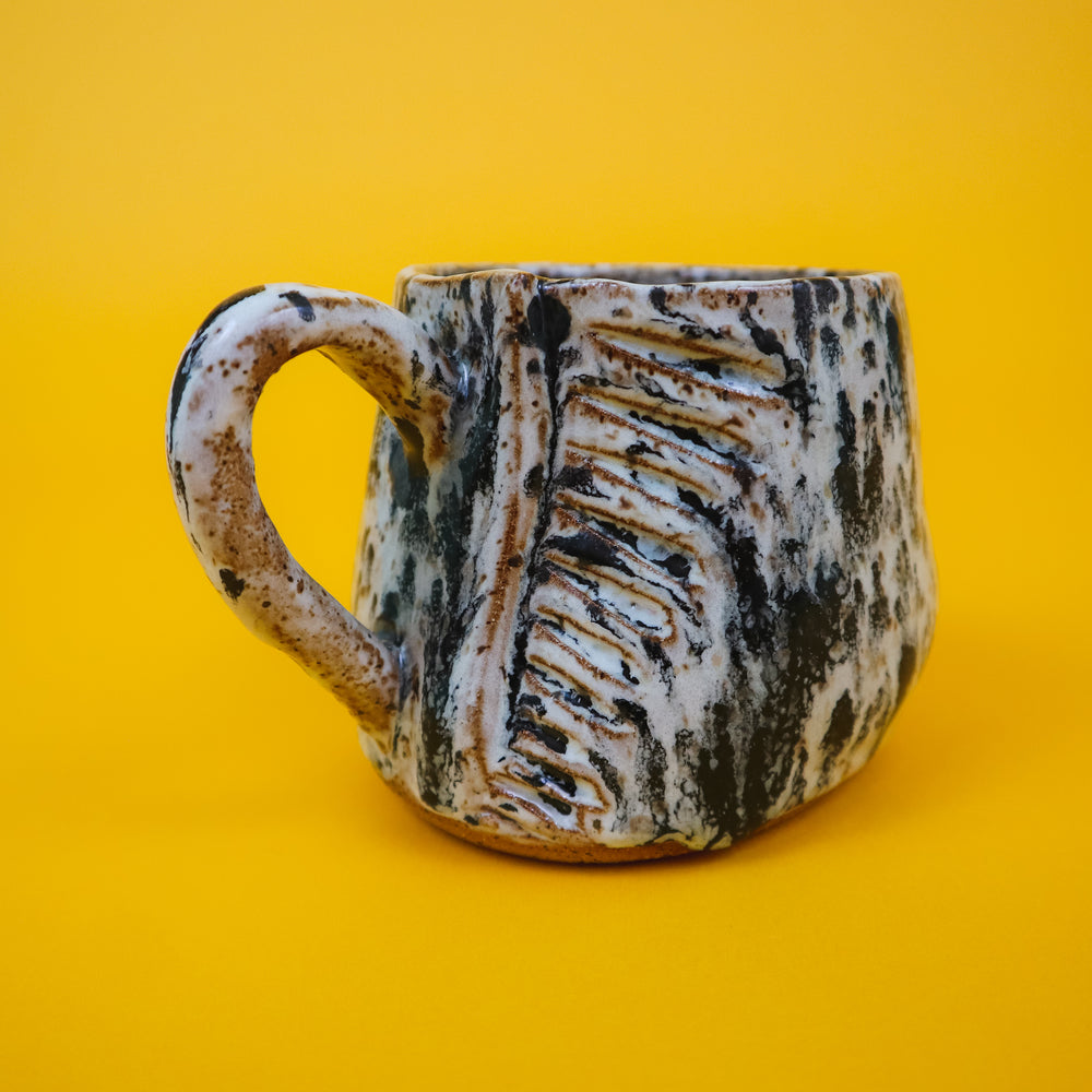 Speckled Zebra Mug