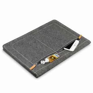 Inateck 13 Inch Tablet/Laptop  Sleeve with Stand Function MP1305, Dark Gray