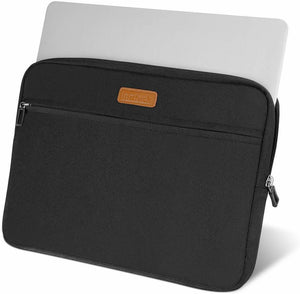 Inateck 13-13.3 Inch MacBook Air/Pro Retina Laptop Sleeve LC1300B, Black