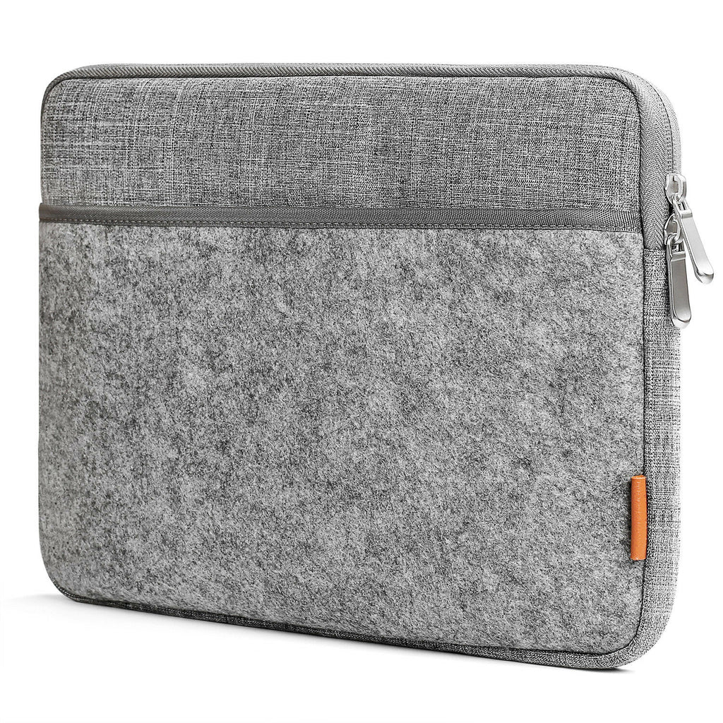 13 Inch MacBook Air/Pro Felt Laptop Sleeve LB01001, Light Gray - Inateck Backpacks