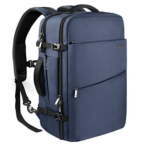 Inateck 40L 17 Inch Carry On Travel Backpack BP03001, Blue