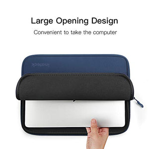 14-14.1 Inch Water Repellent Laptop Sleeve LC1402, Blue - Inateck Backpacks