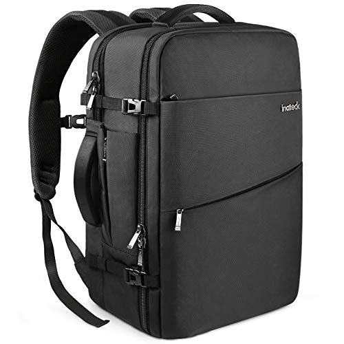 30L 15.6 Inch Laptop Business Travel Backpack BP03002, Black - Inateck Backpacks