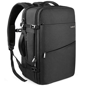 Inateck 30L 15.6 Inch Laptop Business Travel Backpack BP03002, Black
