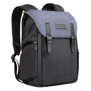 Inateck Anti-Shock & Water-Resistant DSLR/SLR Camera Backpack CB2001, Blue