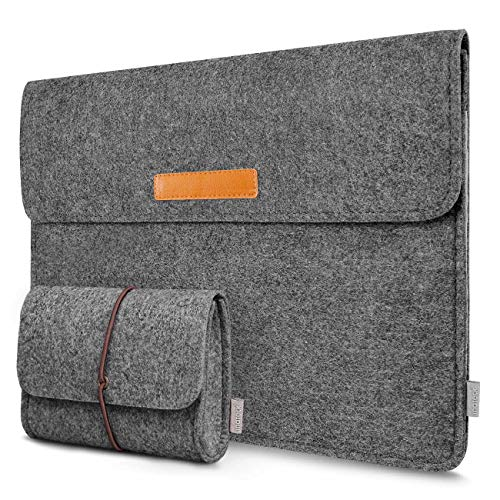 13-13.3 Inch MacBook Pro/Air/iPad Pro Laptop Sleeve MP1300D, Dark Gray - Inateck Backpacks
