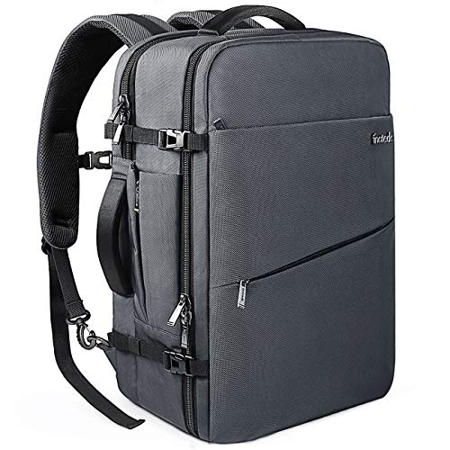 Inateck 40L 17 Inch Carry On Business Travel Backpack BP03001, Gray