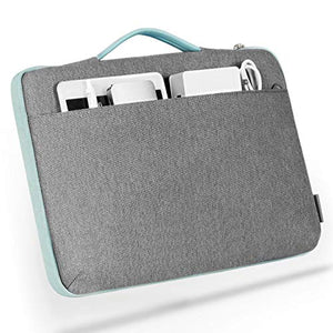 Inateck 14 Inch Laptops/15 Inch Macbook Pro Shockproof Laptop Sleeve Case LB1404, Mint Green