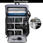 Inateck Anti-Shock & Water-Resistant DSLR/SLR Camera Backpack CB2001
