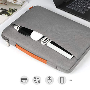 15-15.6 Inch Laptop Sleeve Case LB02005, Gray - Inateck Backpacks