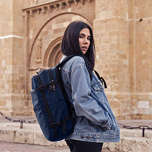 Inateck 30L 15.6 Inch Laptop Business Travel Backpack, BP03002 Blue