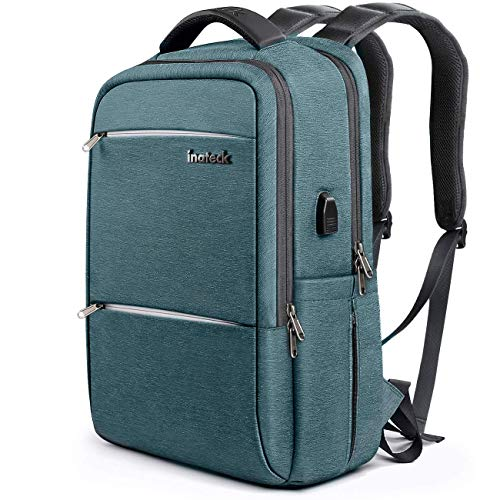 Inateck 15.6 Inch Laptop Backpack with USB Port CB1001, Blue
